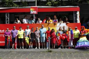 Die Teilnehmer:innen der Nürnberger Demo