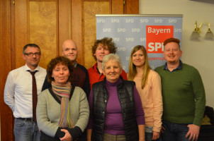 Der Landesvorstand der Schwusos Bayern